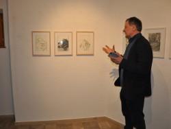 Ausstellung Peter Hauenschild -Zeichnungen 2016