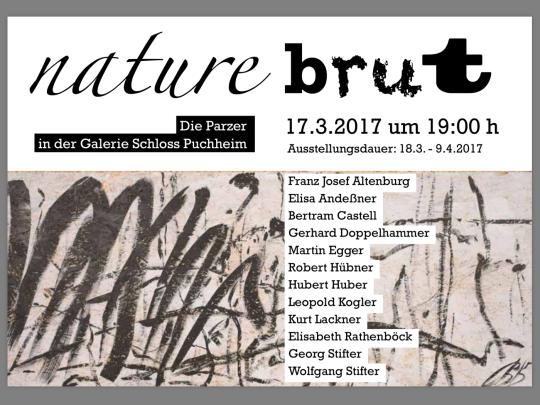 Künstlergruppe Parz / nature brut
