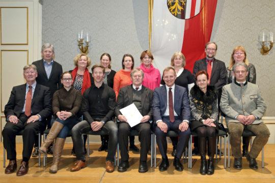 OÖ. Landeskulturpreis für Ernst Hamberger